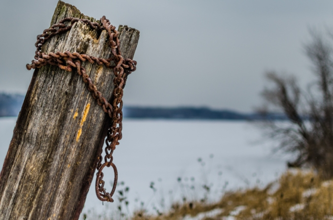 Wooden-Post-Chain