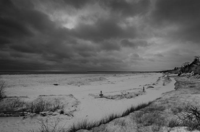 Abandoned Winter Beach